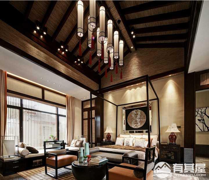古典美中式风格别墅效果图欣赏