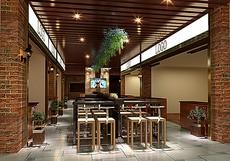 中式美食街