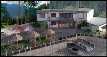 月湖公园农家乐项目俯瞰图