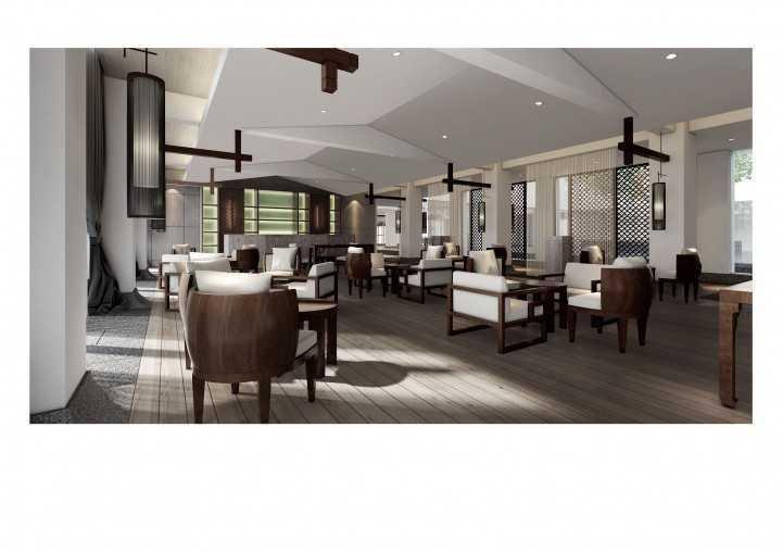 高端三峡大酒店装修设计案例