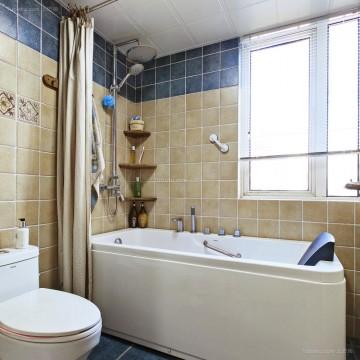 乔峰小区复式 不急楼卫生间装修案例图
