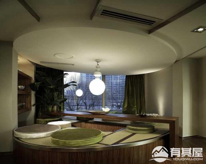 三盏中央公园茶室装修设计效果图