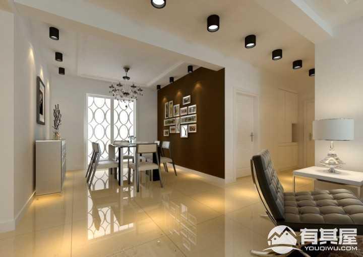颐和山庄现代简约风格130平米装修设计效果图