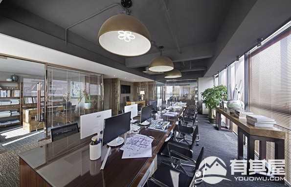 香开新城办公室装修设计效果图