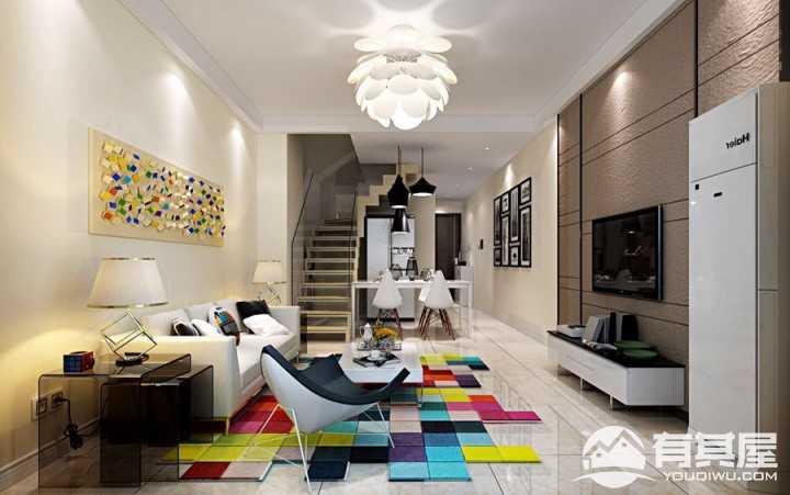 丽都怡园140平复式楼装修设计方案