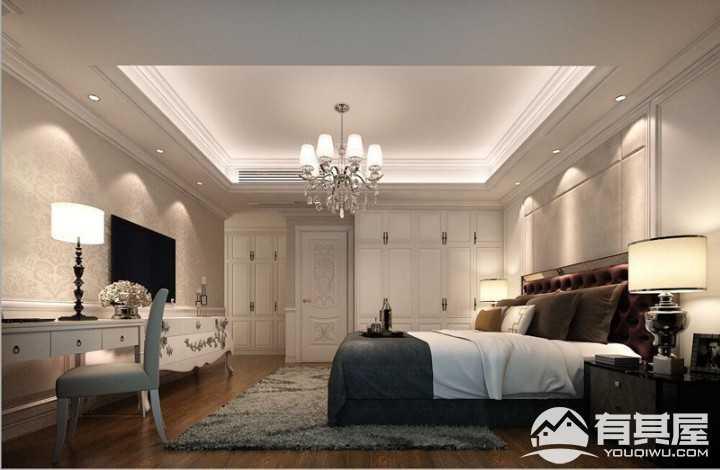 安特紫荆城欧式风格别墅装修方案