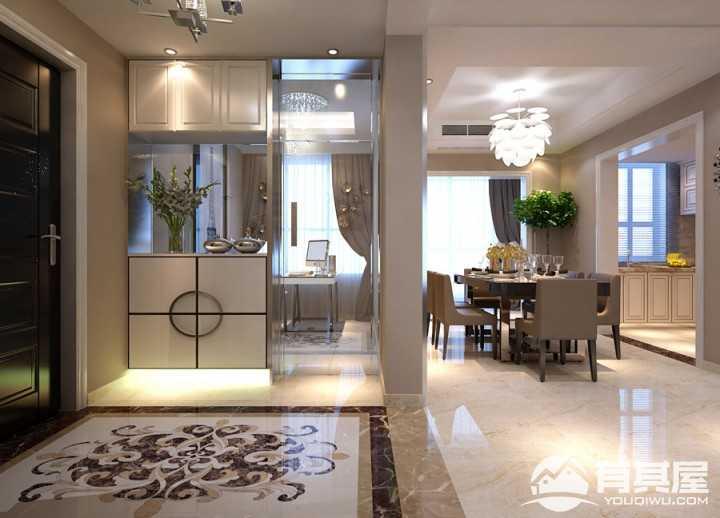 圣华名都苑现代风格两居室装修效果图