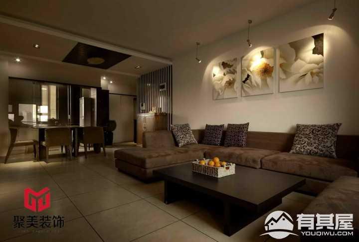 清雅幽远新中式风格室内装修案例