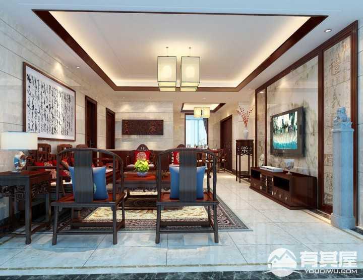 自建房新中式风格家居装修效果图