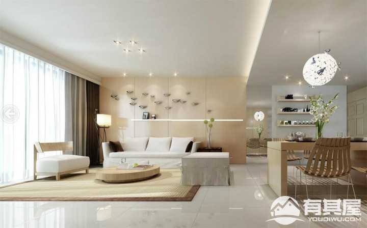 东华家园现代简约室内装修设计图