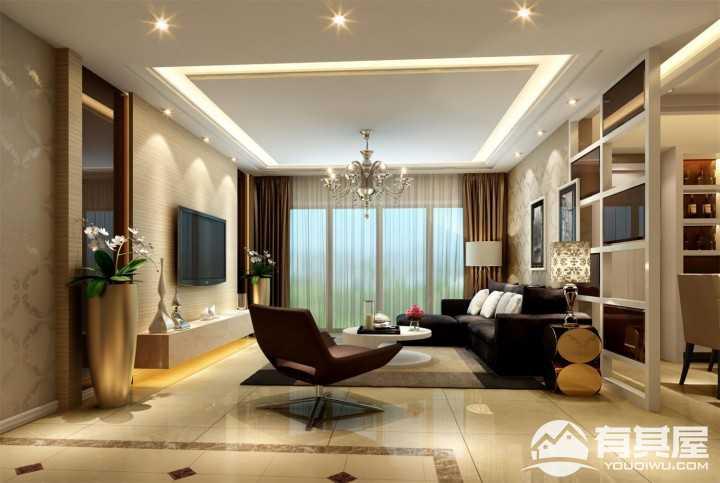 当代华府现代风格家庭装修设计案例
