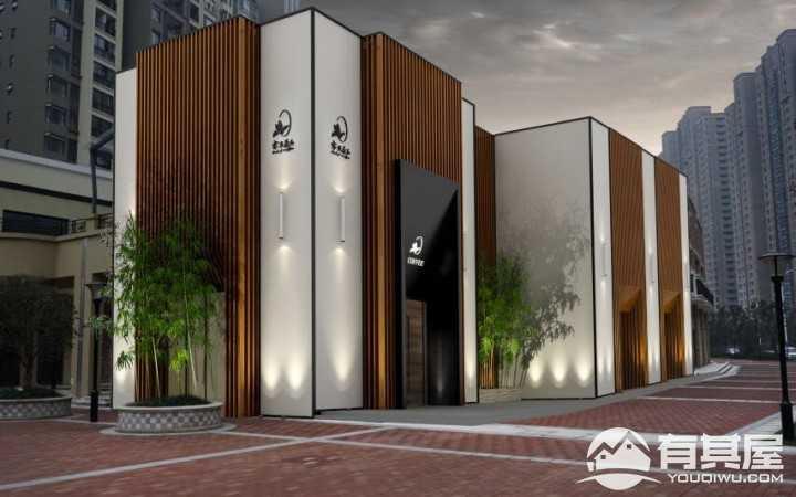 高端大气咖啡厅装修设计案例