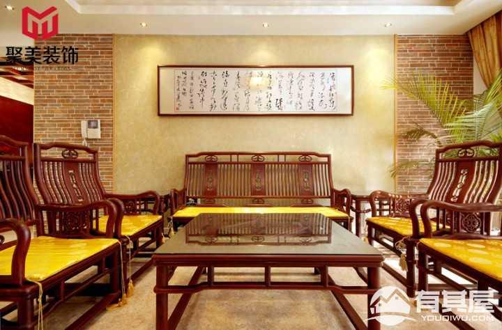 静谧安逸中式风格家居装修案例