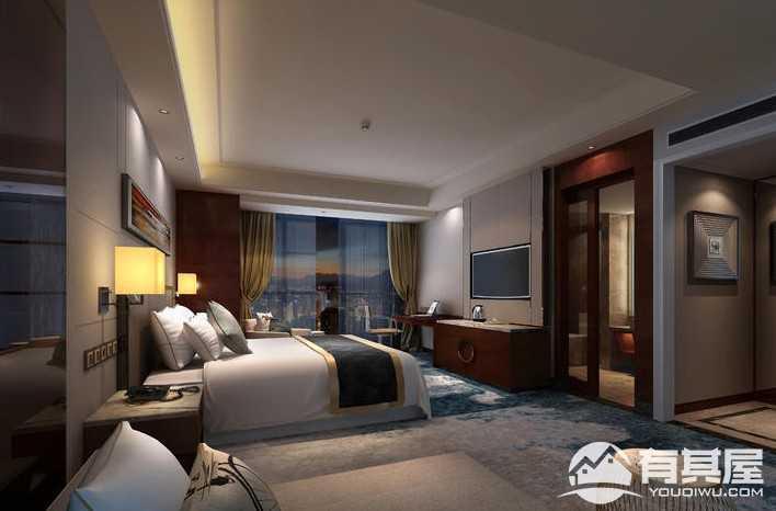 毕节国贸5000平米现代简约风格酒店装修案例