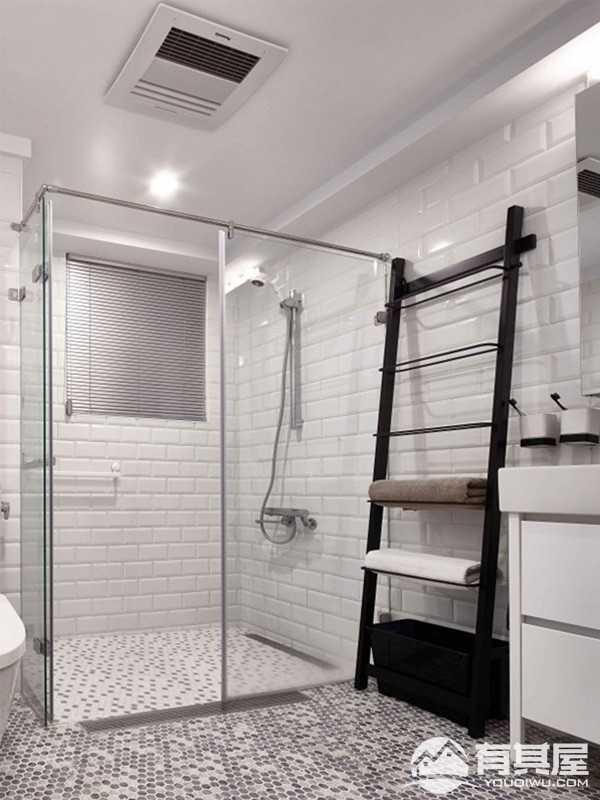 天润城现代简约风格三居室装修设计案例