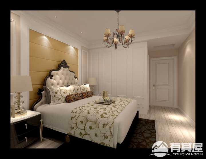 盛和佳苑歐式風格室內裝修設計圖