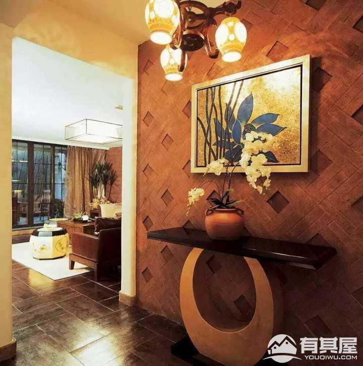 亚热带风情东南亚风格别墅装修设计