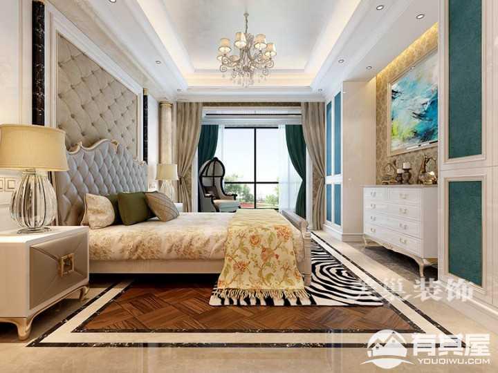 罗马佳州欧式风格别墅卧室设计案例