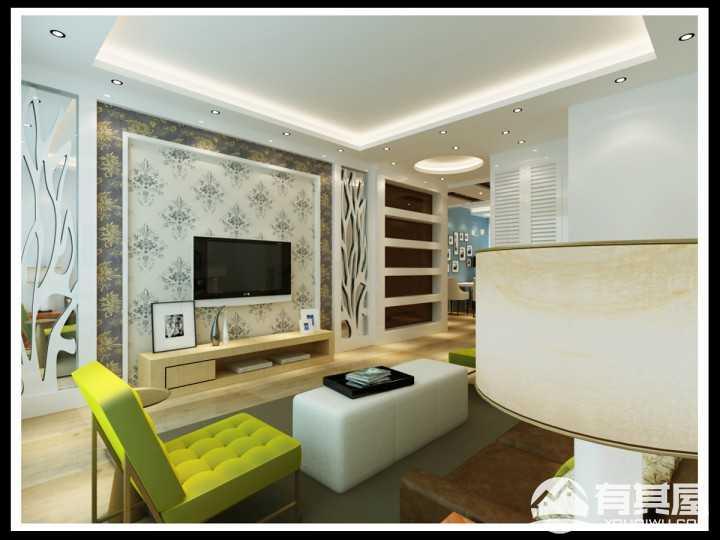 天惠·爱汀堡现代简约装修设计效果图