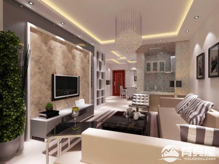 日出东方现代简约风格新房装修设计