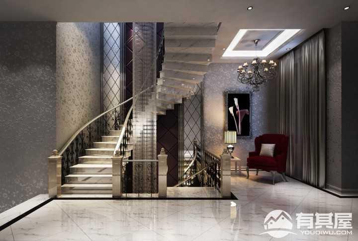 沉醉奢华欧式新古典风格别墅装修案例
