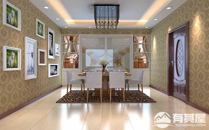 新华风景现代简约风格房屋装修效果图