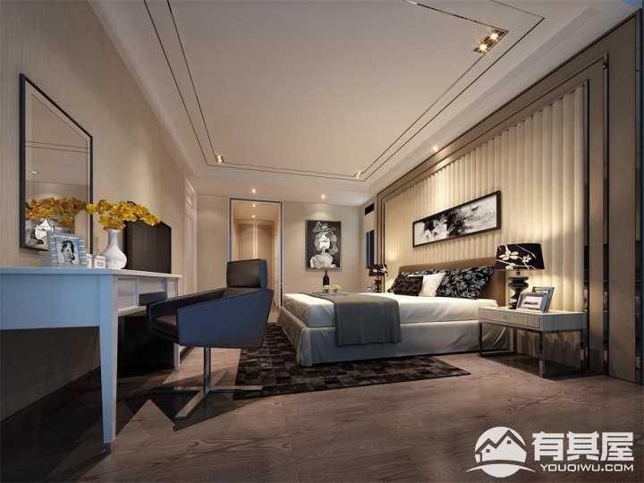 山语清晖花园现代简约风格四居室装修设计效果图
