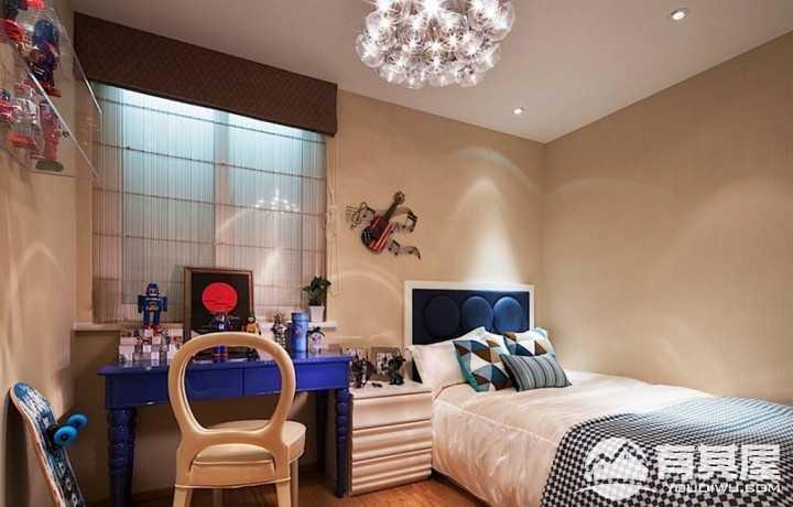 温馨时尚现代风格公寓室内装修案例