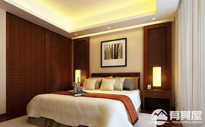 时尚传统新中式风格二居室装修案例