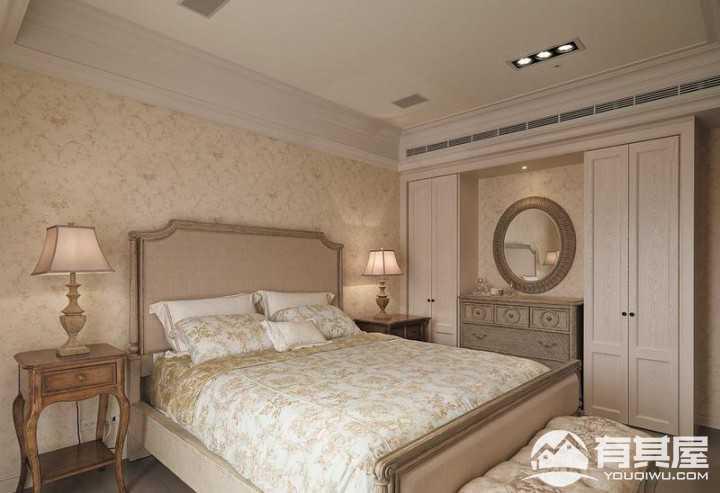 保利国际220平美式风格四室两厅装修案例