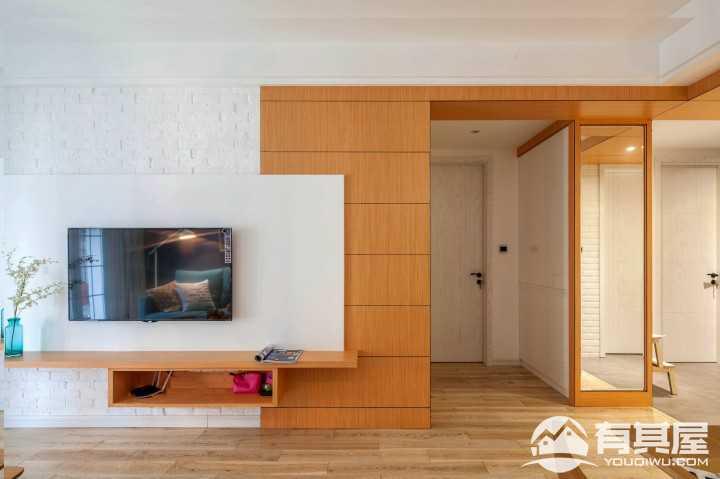 犹之惠风混搭风格二居室装修案例