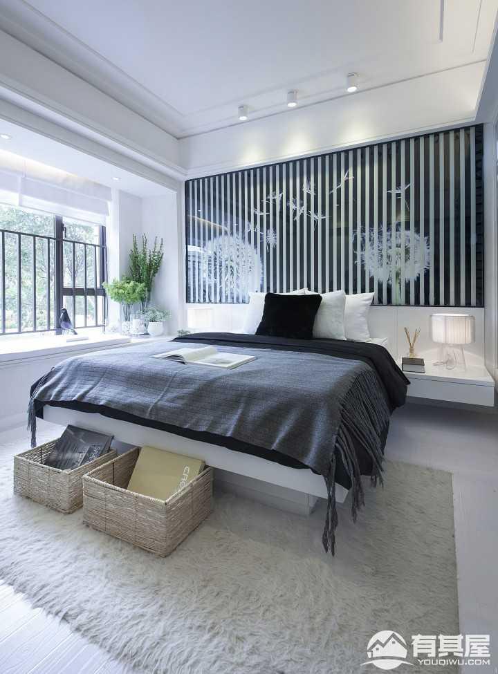 蒲公英的约定简约风格二居室装修样板房