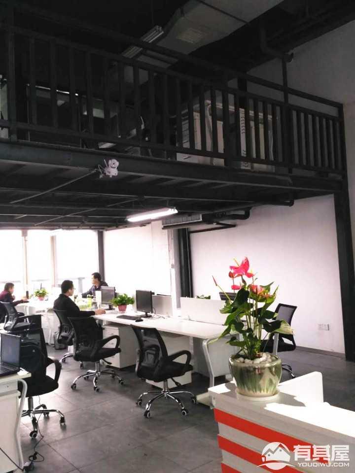 58众创办公室LOFT风格装修实景图