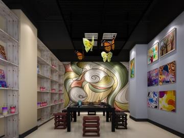 美术馆装修效果图