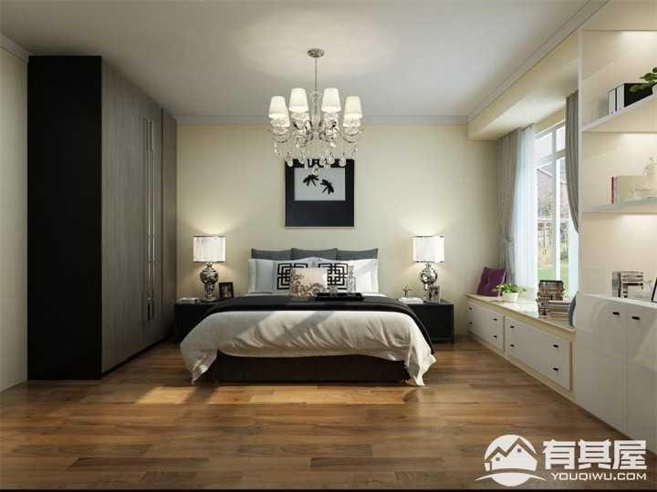锦绣龙城现代简约113平三居室设计图片