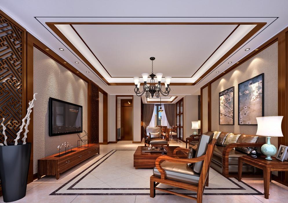 正方形客厅