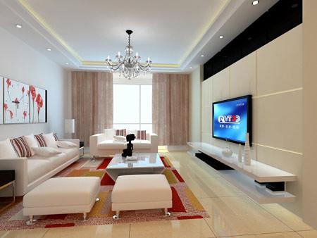 长方形客厅