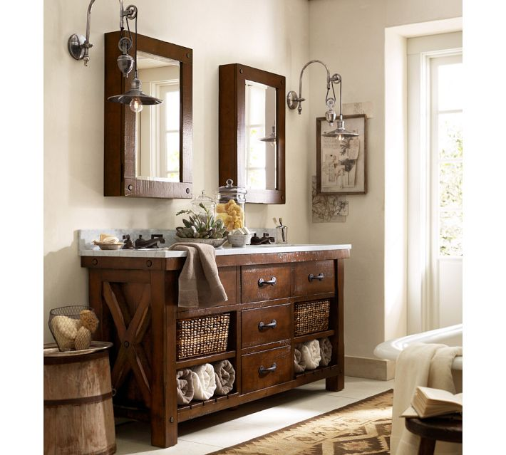 美式浴室柜