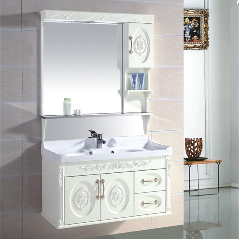 简欧浴室柜