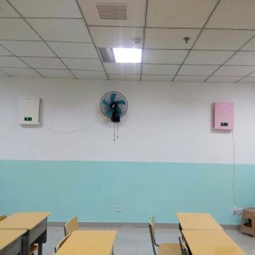 贵阳市南明区都司路中天广场飞扬思维培训学校教室安装建源家用新风系统