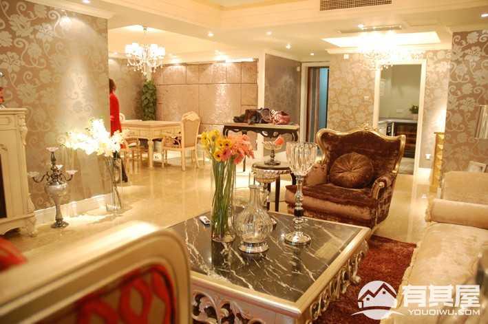 欧城欧式风格四居室装修设计案例