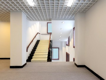 公共区域楼梯效果图