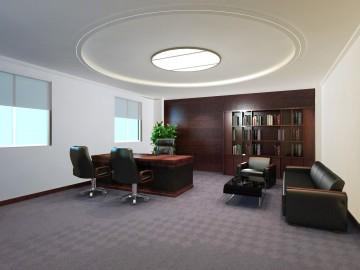 办公室吊顶效果图