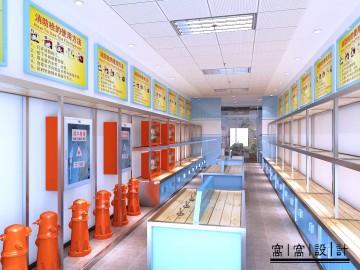 消防器材专卖店装修设计图片