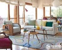 带有浓重个人色彩的混搭风格乡村别墅装修设计,装修效果图很复古