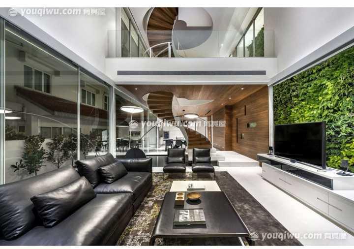 广州李宅新中式别墅装修案例