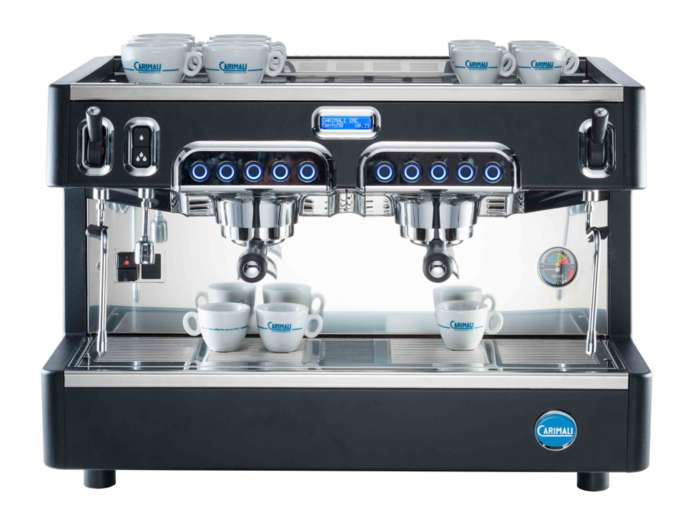 半自动化咖啡机