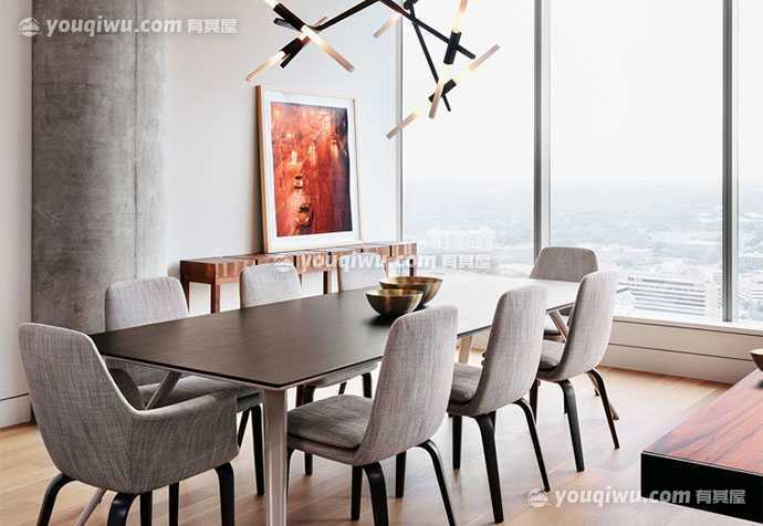 泰欣嘉园现代风格公寓装修设计