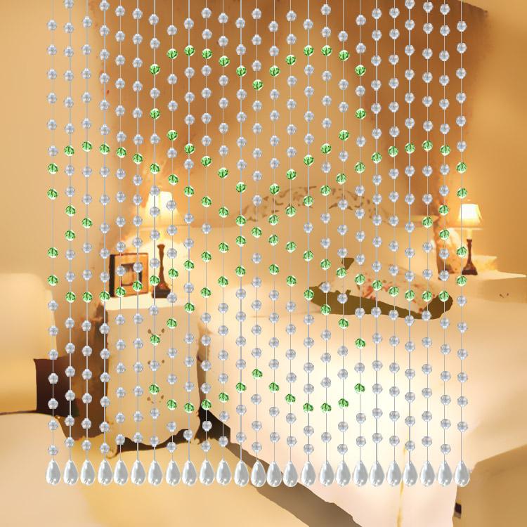 水晶门帘装饰