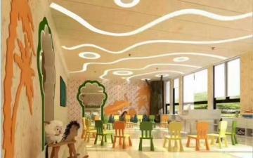 仿佛置身童话世界的幼儿园装修设计案例